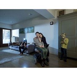 Huub van der Put (living with A.L.S.) & family. Book The Mind is a Muscle. Concept/Design: Erik Kessels/Anthon Beeke.