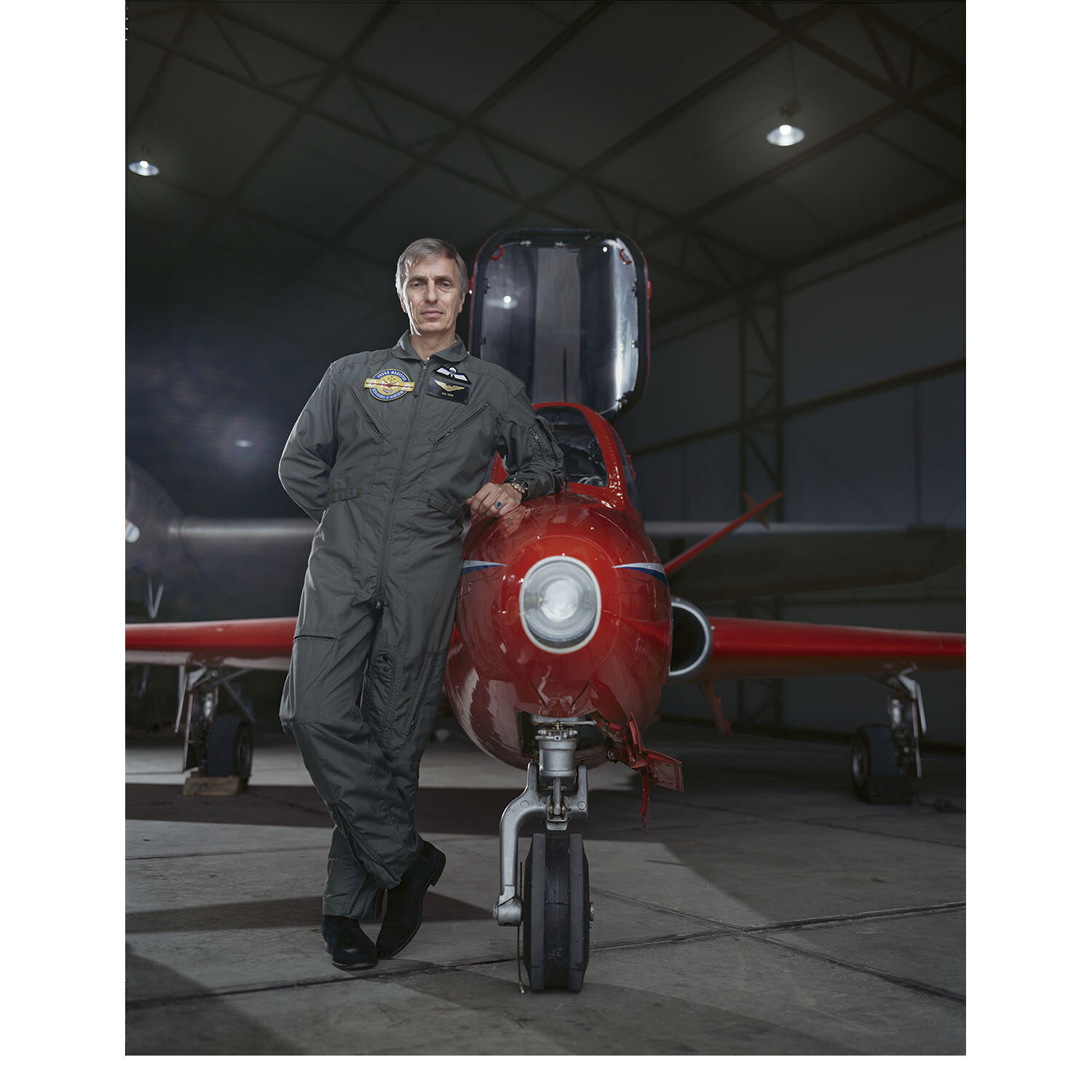 Eric Tierie - Fouga Magister Plain editorial for Bond Magazine. Shot on 4x5 inch film.