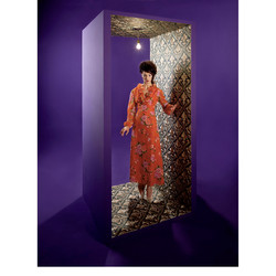 Ode to dutch singer Mary Servaes series 3/3 for Museum de Lakenhal Leiden. 4x5 inch film.