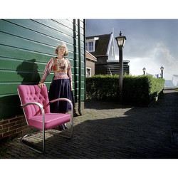 Aaltje and Gispen 412GE book for Interior Fair Amsterdam. 120 film.