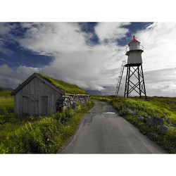 Road trip - Stave, Norway. Digital medium format.