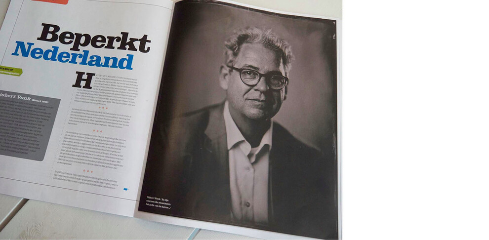Publication Gijsbert Vonk in UWV Magazine.